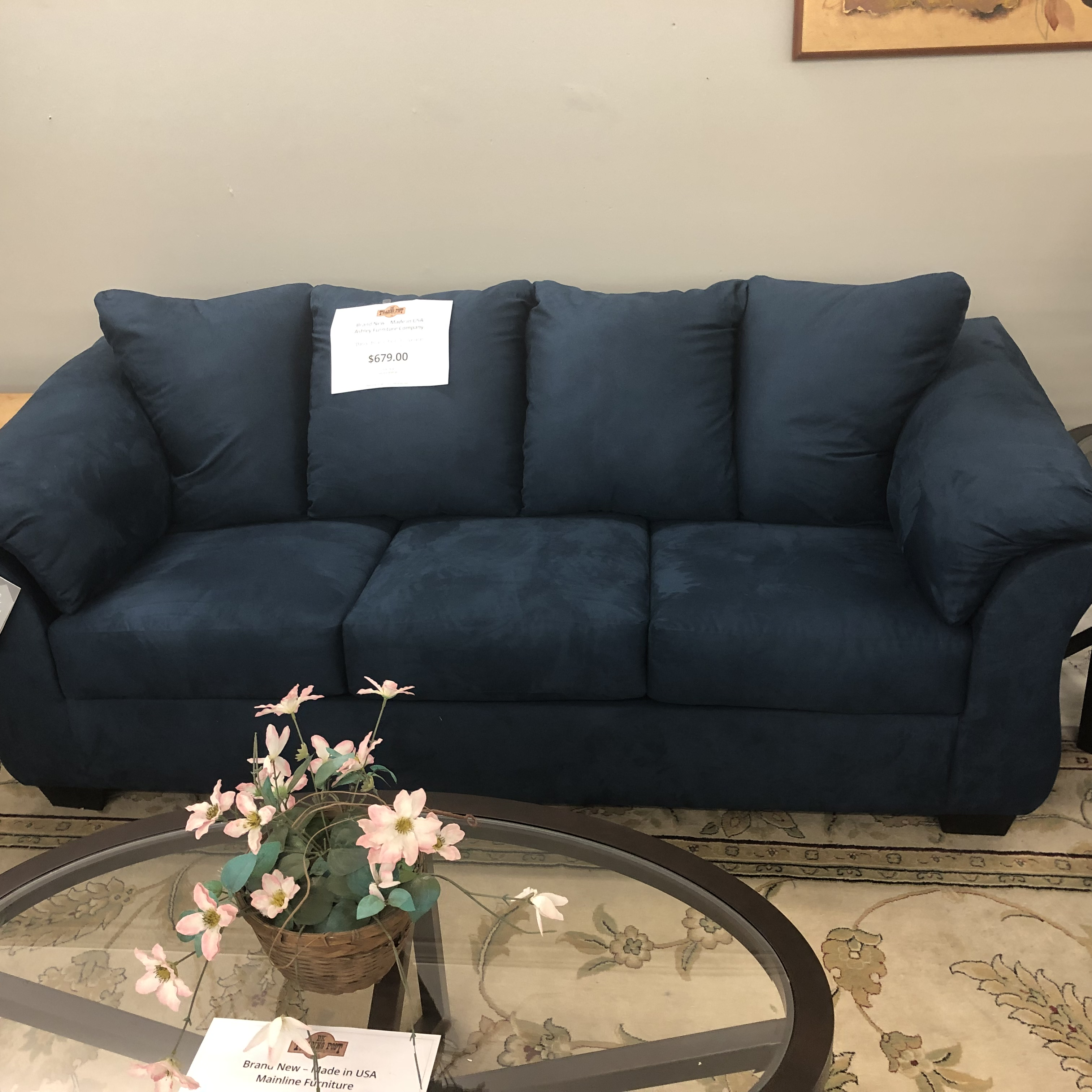 Marvelous New Furniture Brand New Ashley Darcy Sofa And Loveseat Dailytribune Chair Design For Home Dailytribuneorg