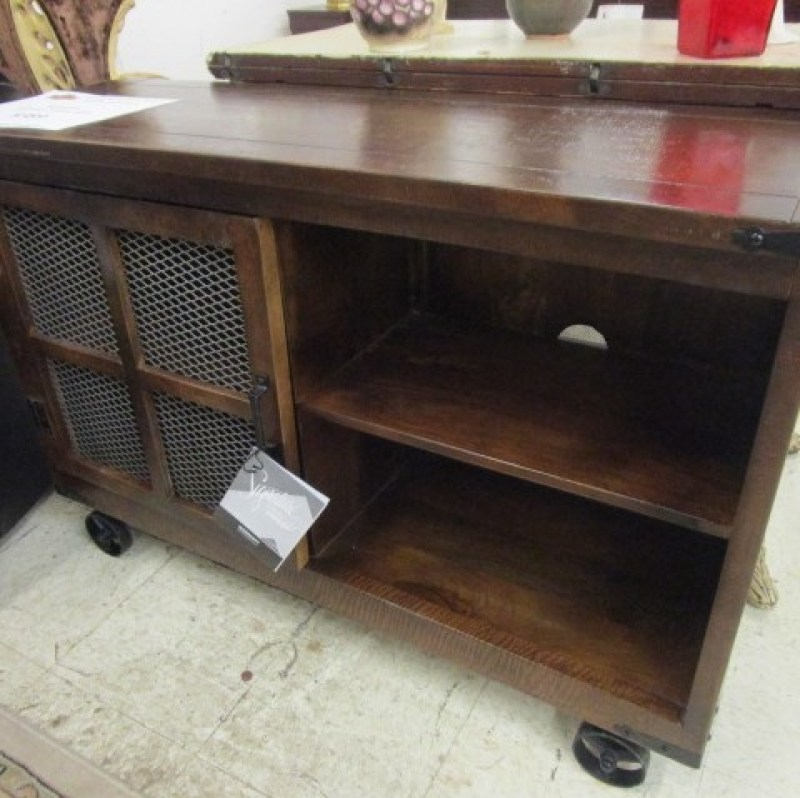Industrial Styled Console Table